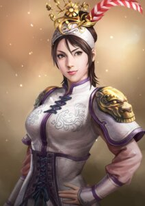 Rating: Safe Score: 15 Tags: armor asian_clothes lu_lingqi romance_of_the_three_kingdoms_xiii tagme User: Radioactive