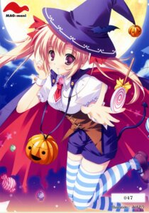 Rating: Safe Score: 31 Tags: halloween mikeou thighhighs witch User: admin2
