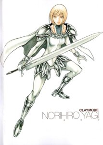 Rating: Safe Score: 5 Tags: armor clare claymore sword yagi_norihiro User: Radioactive