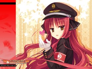 Rating: Safe Score: 54 Tags: dracu-riot! muririn uniform wallpaper yarai_miu yuzu-soft User: Infernal-ZERO