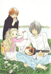 Rating: Safe Score: 3 Tags: hanamoto_hagumi honey_and_clover morita_shinobu takemoto_yuuta umino_chica User: Radioactive