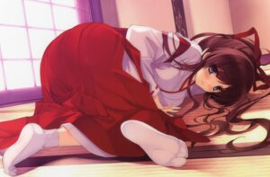 Rating: Safe Score: 148 Tags: miko misaki_kurehito User: StardustKnight