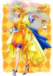 Rating: Questionable Score: 6 Tags: dress garter heels hugtto!_precure kawamura_toshie User: drop