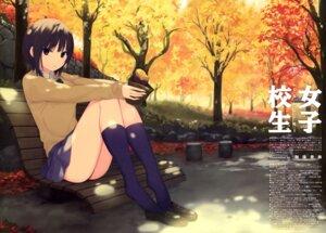 Rating: Questionable Score: 27 Tags: aoyama_sumika coffee-kizoku seifuku sweater User: drop