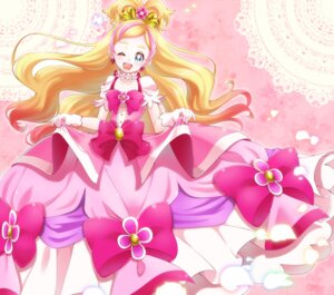 Rating: Safe Score: 10 Tags: dress go!_princess_pretty_cure haruno_haruka pretty_cure yupiteru User: cosmic+T5