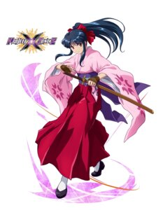 Rating: Questionable Score: 15 Tags: japanese_clothes project_x_zone sakura_taisen shinguuji_sakura sword User: Yokaiou