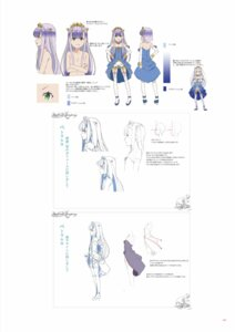 Rating: Questionable Score: 16 Tags: character_design digital_version dress heels naked outbreak_company sketch thighhighs yuugen User: Twinsenzw