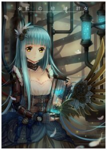 Rating: Safe Score: 36 Tags: cleavage dress haneru mecha_musume wings User: Mr_GT