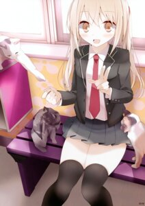 Rating: Safe Score: 34 Tags: neko oouso seifuku thighhighs usotsukiya User: Hatsukoi