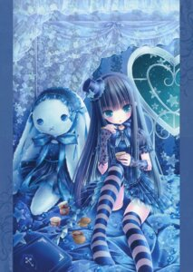 Rating: Questionable Score: 53 Tags: crease gothic_lolita lolita_fashion pantsu thighhighs tinkle User: petopeto