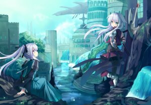 Rating: Safe Score: 70 Tags: anceril_sacred ciel_sacred mishima_kurone User: fairyren