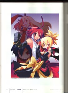 Rating: Safe Score: 9 Tags: adell binding_discoloration disgaea disgaea_2 dress etna flonne gun laharl pointy_ears rozalin wings yamamoto_keiji User: MDGeist