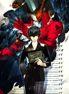 Rating: Safe Score: 19 Tags: arsene_(persona_5) kurusu_akira male persona_5 soejima_shigenori User: Radioactive