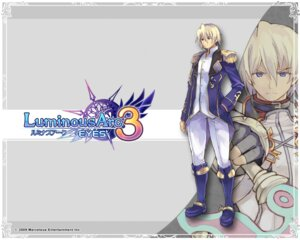Rating: Safe Score: 4 Tags: luminous_arc luminous_arc_3 male refi shibano_kaito sword uniform wallpaper User: Devard