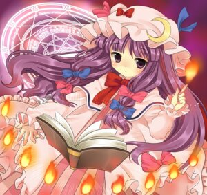Rating: Safe Score: 14 Tags: hanabana_tsubomi patchouli_knowledge touhou User: konstargirl