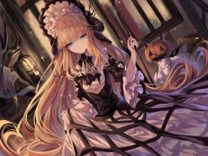 Rating: Safe Score: 24 Tags: arknights halloween horns lolita_fashion sheya skirt_lift User: Mr_GT