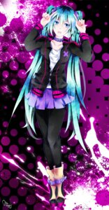 Rating: Safe Score: 18 Tags: hatsune_miku pantyhose tyouya vocaloid User: eridani