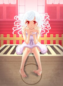 Rating: Questionable Score: 33 Tags: bakemonogatari dress miyai_max nisemonogatari pantsu sengoku_nadeko User: 椎名深夏