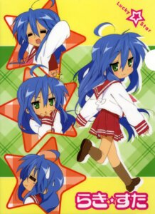 Rating: Safe Score: 7 Tags: izumi_konata lucky_star seifuku User: hyde333