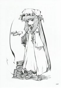 Rating: Safe Score: 3 Tags: patchouli_knowledge touhou User: noirblack