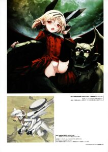 Rating: Safe Score: 12 Tags: mecha_musume pantsu shimada_humikane User: silentwolf