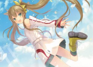 Rating: Safe Score: 35 Tags: 6u huang_lingyin infinite_stratos seifuku User: Velociraptor