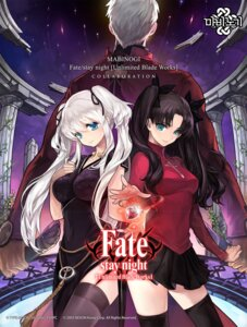 Rating: Safe Score: 30 Tags: archer chinadress crossover fate/stay_night fate/stay_night_unlimited_blade_works mabinogi nao thighhighs toosaka_rin User: Radioactive