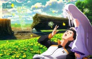 Rating: Safe Score: 46 Tags: emilia_(re_zero) natsuki_subaru pointy_ears re_zero_kara_hajimeru_isekai_seikatsu sakai_kyuuta User: drop