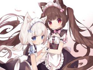 Rating: Safe Score: 24 Tags: animal_ears chocola fujii_shino maid nekomimi nekopara tail vanilla User: BattlequeenYume