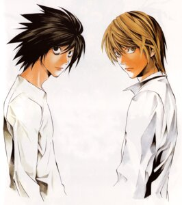 Rating: Safe Score: 8 Tags: death_note l male obata_takeshi yagami_light User: Radioactive
