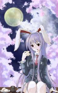 Rating: Safe Score: 13 Tags: animal_ears bunny_ears lilith_bloody reisen_udongein_inaba touhou User: Nekotsúh