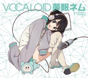 Rating: Safe Score: 42 Tags: disc_cover headphones horiguchi_yukiko thighhighs vocaloid yumemi_nemu User: saemonnokami