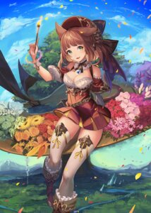 Rating: Safe Score: 62 Tags: 4th animal_ears cleavage tail thighhighs User: Mr_GT
