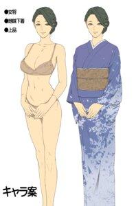 Rating: Questionable Score: 19 Tags: bra character_design cleavage oda_non pantsu tagme yukata User: Radioactive