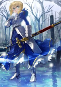 Rating: Safe Score: 26 Tags: armor dress fate/stay_night saber sword yone User: Mr_GT