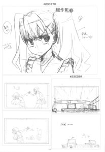 Rating: Safe Score: 2 Tags: aisaka_taiga kushieda_minori monochrome sketch toradora! User: superogira