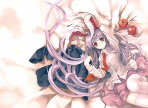 Rating: Safe Score: 38 Tags: animal_ears bunny_ears cradle misaki_kurehito reisen_udongein_inaba touhou User: CC