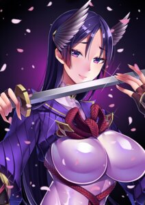 Rating: Safe Score: 41 Tags: bodysuit fate/grand_order may_(2747513627) minamoto_no_yorimitsu_(fate/grand_order) sword User: mash