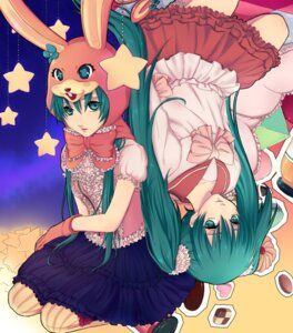 Rating: Safe Score: 10 Tags: hatsune_miku juuya lolita_fashion lots_of_laugh_(vocaloid) vocaloid User: anaraquelk2