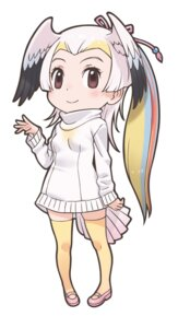 Rating: Safe Score: 1 Tags: great_white_pelican kemono_friends sweater thighhighs wings yoshizaki_mine User: saemonnokami