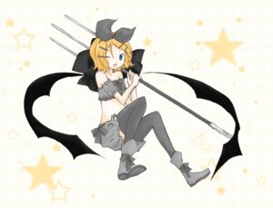Rating: Safe Score: 3 Tags: kagamine_rin thighhighs tomine_chiho vocaloid User: charunetra