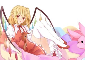 Rating: Safe Score: 22 Tags: flandre_scarlet heels pointy_ears tagme thighhighs touhou wings User: RyuZU