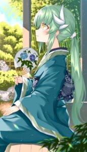 Rating: Safe Score: 19 Tags: fate/grand_order horns kiyohime_(fate/grand_order) morizono_shiki yukata User: BattlequeenYume