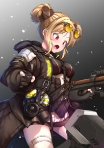 Rating: Questionable Score: 15 Tags: garter girls_frontline gun megane p90_(girls_frontline) yaosera User: Dreista