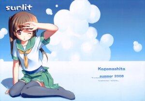 Rating: Questionable Score: 39 Tags: kogemashita school_swimsuit seifuku swimsuits takoyaki thighhighs undressing User: midzki
