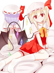 Rating: Safe Score: 20 Tags: flandre_scarlet pspmaru remilia_scarlet touhou wings User: 23yAyuMe