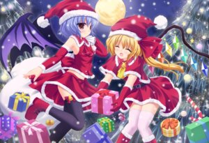 Rating: Safe Score: 29 Tags: christmas flandre_scarlet remilia_scarlet shimotsuki_keisuke thighhighs touhou User: Mr_GT