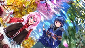 Rating: Safe Score: 29 Tags: kagamihara_nadeshiko pantyhose shima_rin swordsouls wallpaper yurucamp User: Mr_GT