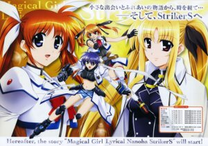 Rating: Safe Score: 4 Tags: fate_testarossa mahou_shoujo_lyrical_nanoha mahou_shoujo_lyrical_nanoha_strikers subaru_nakajima takamachi_nanoha teana_lanster User: RozenKiss