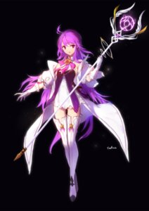 Rating: Safe Score: 54 Tags: aisha_(elsword) dress elsword swd3e2 thighhighs weapon User: Mr_GT
